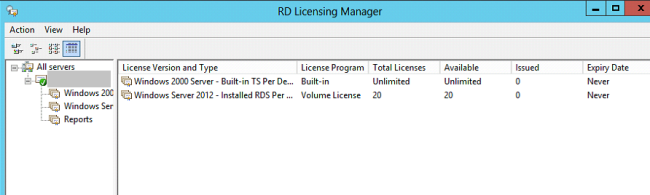 Remote desktop connection not yet registered with session broker
