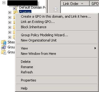 Group policy management msc